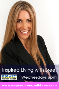 Inspired Living With Bree  Listen to the Promo